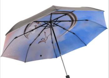 三折叠晴雨两用伞图片