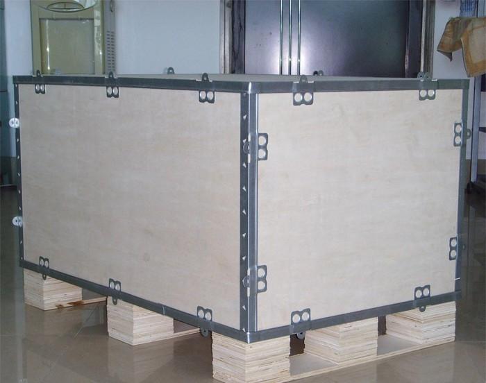 厦门出口钢边箱