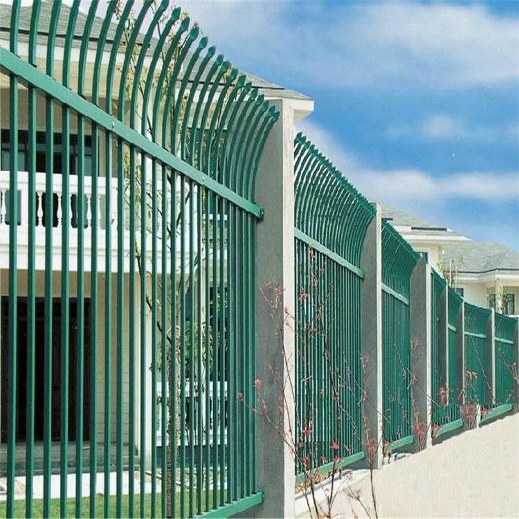 欧式小区护栏网 锌钢围栏铝艺栏杆庭院护栏网小区护栏锌钢护栏