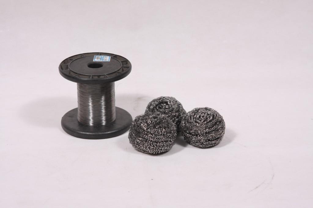 镀锌铁丝0.20MM  镀锌清洁球丝 GI SCOURER METAL