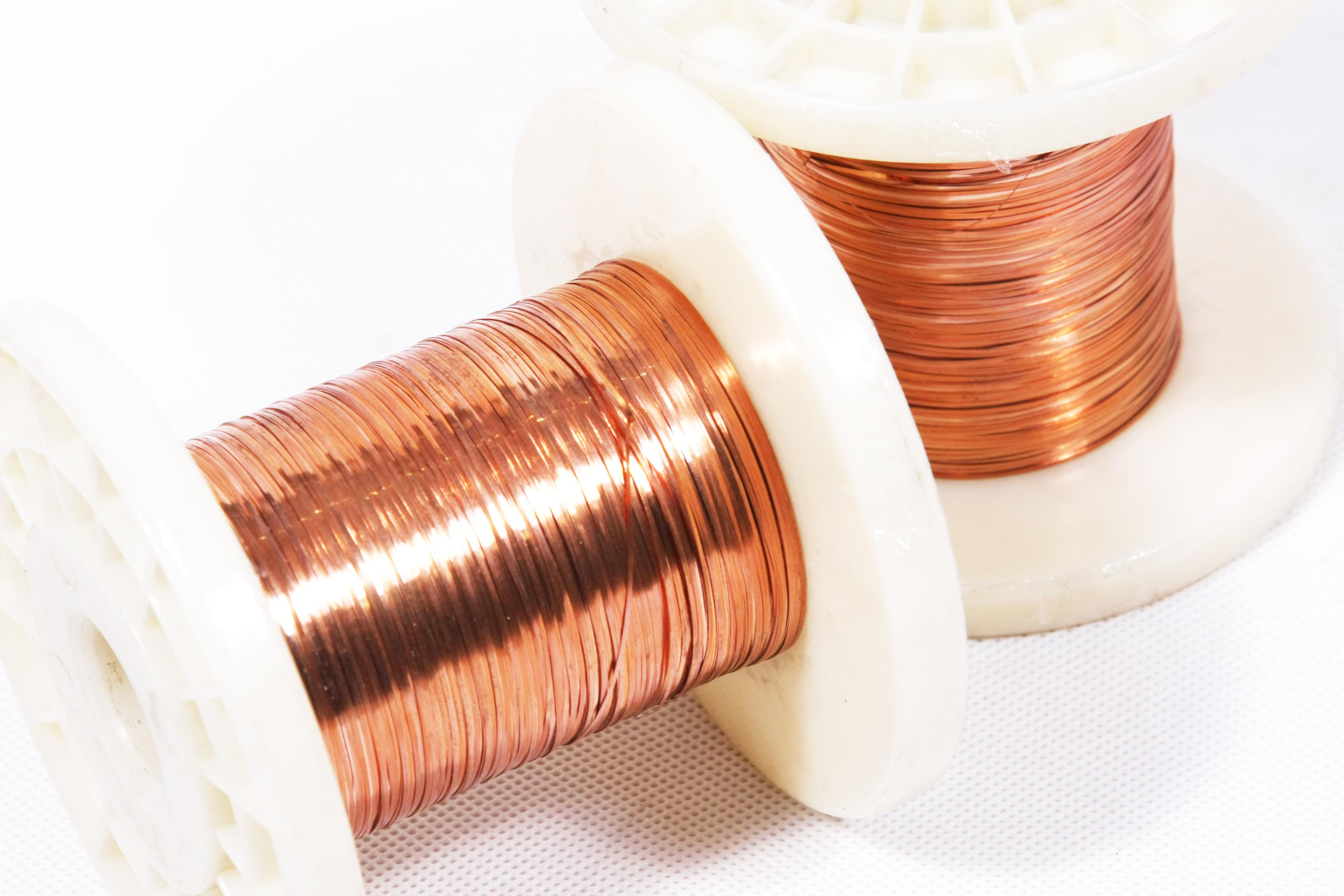 镀铜扁丝,用来做镀铜网球