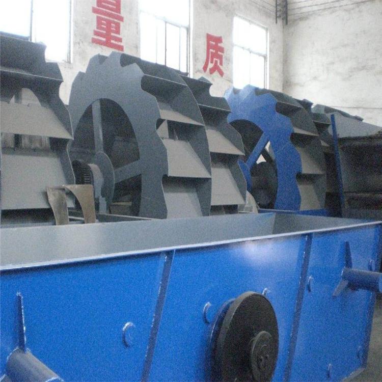 砂石生产线配套设备 可定制生产各型号轮斗式洗石机 节能环保热销 轮斗式洗砂机