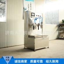 济南天鲁CZG-2型机油食用油润滑油防冻液叶面肥洗衣液双头称重式灌装机批发