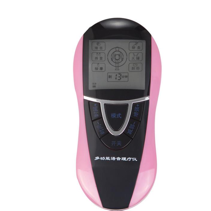 东莞按摩器厂家批发新款语音多功能报读数码经络颈椎理疗按摩仪