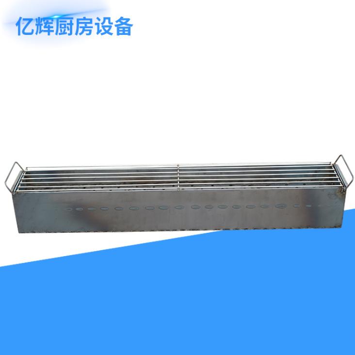 厂家批发 钢板户外烧烤炉 便携式烧烤架 支持定制尺寸 烧烤用品