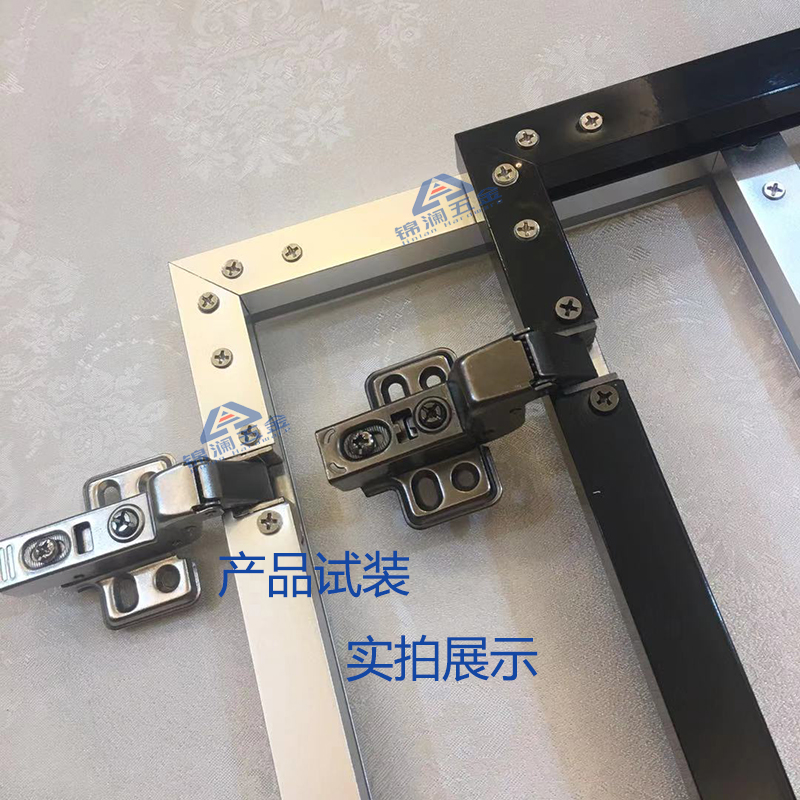 黑色铝框液压铰链报价表、黑色铝框液压铰链厂家直销