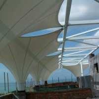 码头景观篷 嘉兴市安装码头膜结构 嘉兴市景观棚 质量保证