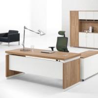 老板办公桌简约现代经理主管大班台总裁办公桌椅组合家具办公书桌