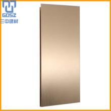 建材幕墙古铜拉丝铝板  铝板厂家直销 价格优惠图片