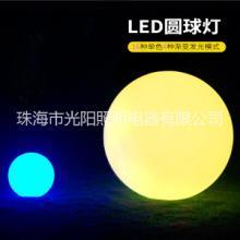 LED发光圆球灯防水草坪灯户外落地灯遥控游泳池庭院灯节日装饰灯图片