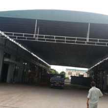 合肥市推拉篷订制 大型电动推拉篷 芜湖厂房推拉棚图片