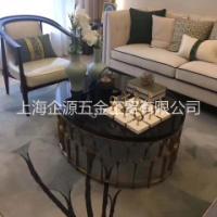 上海金属茶几、茶台、酒店茶几、办公茶几订做生产
