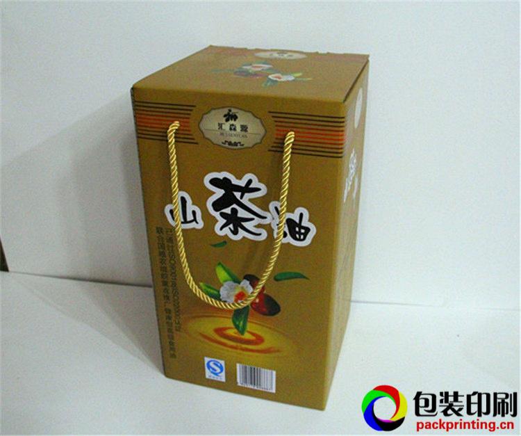 广州利辉纸盒包装厂山茶油特产礼品包装盒印刷厂家定制