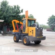 公路护栏工程打桩机价格南京高速公路施工护栏打桩工程打桩机市场售价报表图片