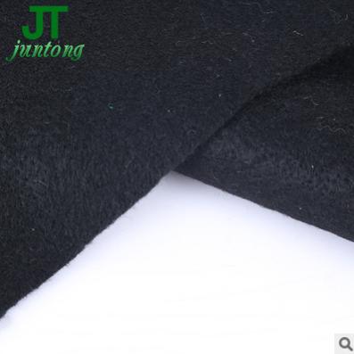 供应针刺预氧丝耐高温阻燃针刺无纺布 可定制黑色涤纶阻燃针刺棉