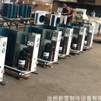 风冷式冷凝机组 冷库用风冷式制冷机组 双极压缩机批发供应