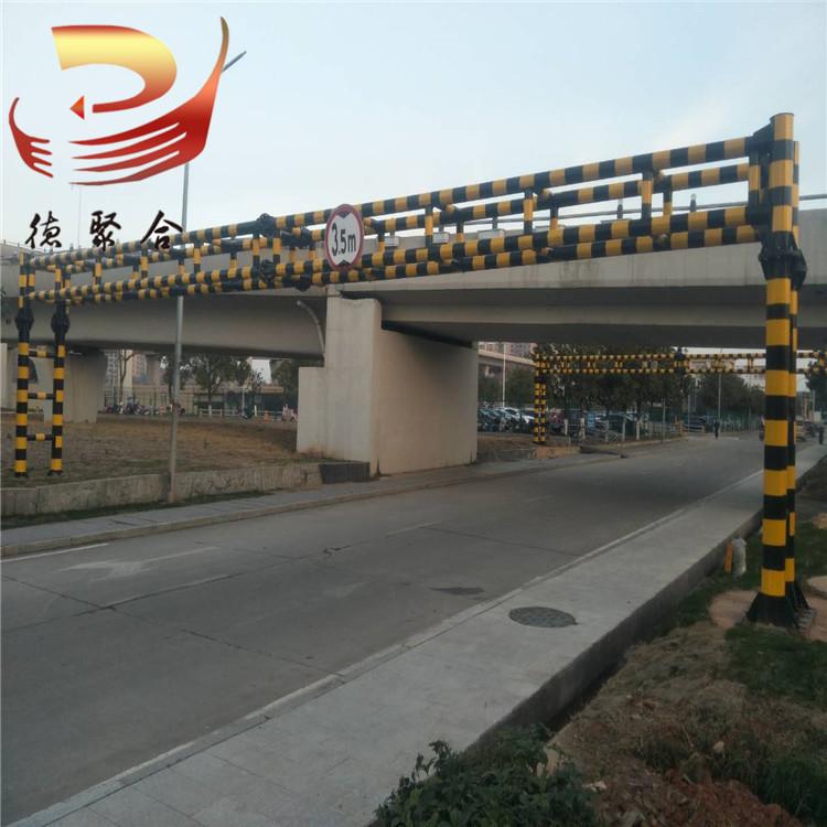 限高杆厂家直营定制限高架高速公路限高杆单立柱双立柱限高龙门架