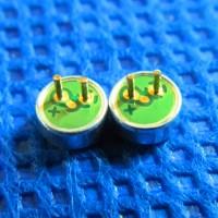 双电容背极式抗干扰4015带针咪头4MM*1.5MM