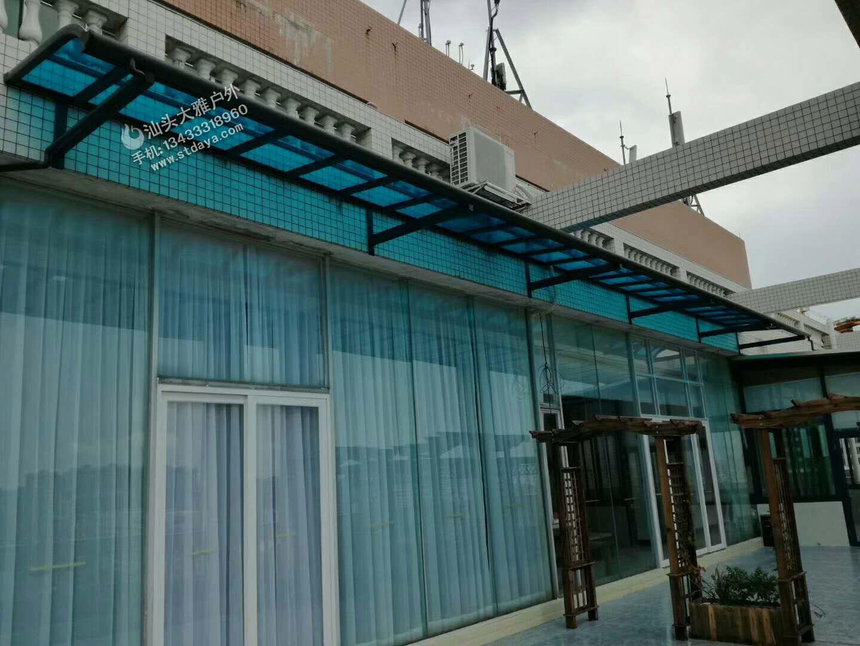铝合金窗棚 汕头露台棚 别墅露台棚 高端遮阳雨棚 可抗12级台风高强度铝型材