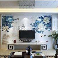 汉皇3D墙体彩绘机大型文化户外广场墙面粉墙机