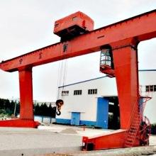 江苏盐城回收双梁吊钩门式起重机 单双梁桥式起重机 悬挂式龙门吊图片