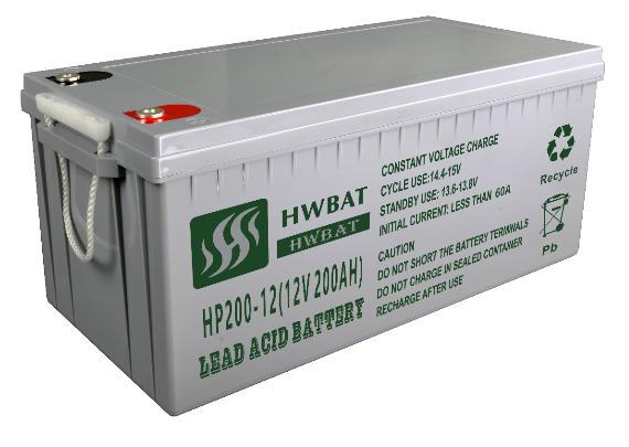 铅酸免维护蓄电池12V200AH厂家直销