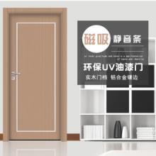 静音门木门 实木订做 现代风格复合木门套装 木门实木多层 隔音门
