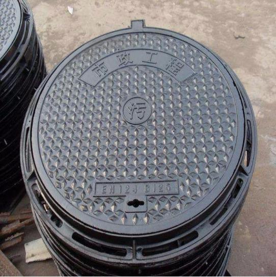 带锁井盖供应商/厂家批发 厂家定制带锁井盖