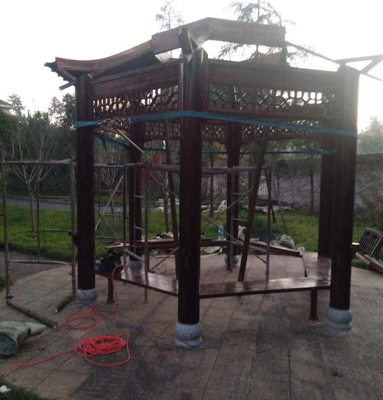 古建凉亭工程设计制作