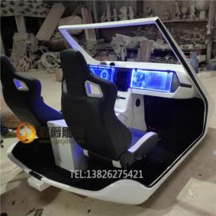 玻璃钢带真  皮椅座仿真车模型图片