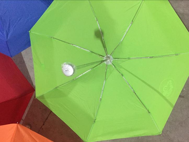创意三折广告可定制雨伞印logo字商务双人礼品伞自动伞晴雨伞男女 广告雨伞