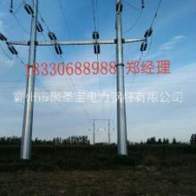 生产加工10kv 35kv钢管杆