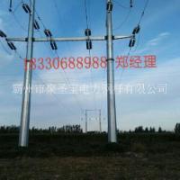 批发优质电力钢杆 钢管杆