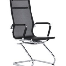 虹桥弓形电脑椅家用转椅会议椅座椅办公椅休闲椅网布面职员椅批发