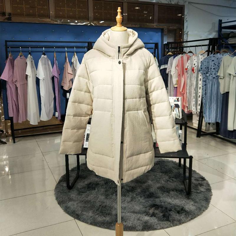 19反季棉服一布百布品牌批发 棉服 羽绒服女装批发