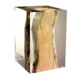 厂家定制 水晶胶内埋木头 亚克力内埋木头 透明树脂工艺品 摆件