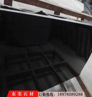 蒙古黑花岗岩光面图片/蒙古黑花岗岩光面样板图 (4)