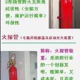 厂家供应  火探管七烷气体自动灭火装置  直接式  间接式  厂家直销  批发  零售  消防安装