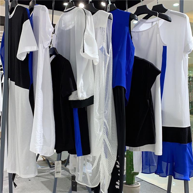 上海一线高端潮牌 MK女装品牌库存尾货直播女装 MK