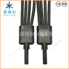 Y型一拖四防水连接器/IP66防水接头/LED路灯洗墙灯一拖多尼龙插头 Y-01一拖三四芯