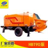 湘力诺90地泵厂家 其他混泥土泵可定制  混凝土输送泵报价  商混站混凝土输送设备