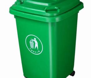 240L塑料垃圾桶图片
