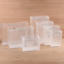 厂家定做彩印环保PVE,PET,OPP包装塑料盒手提袋