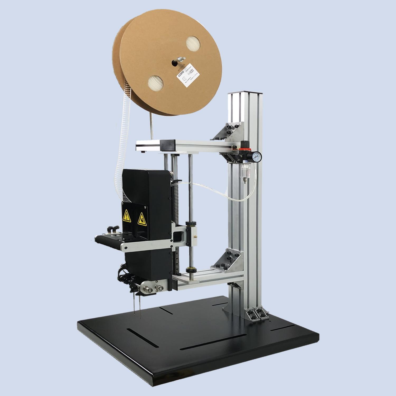 供应用于产品包装的弹性胶钉机 vns胶针机 玩具五金背卡固定 针距可调  绑卡机