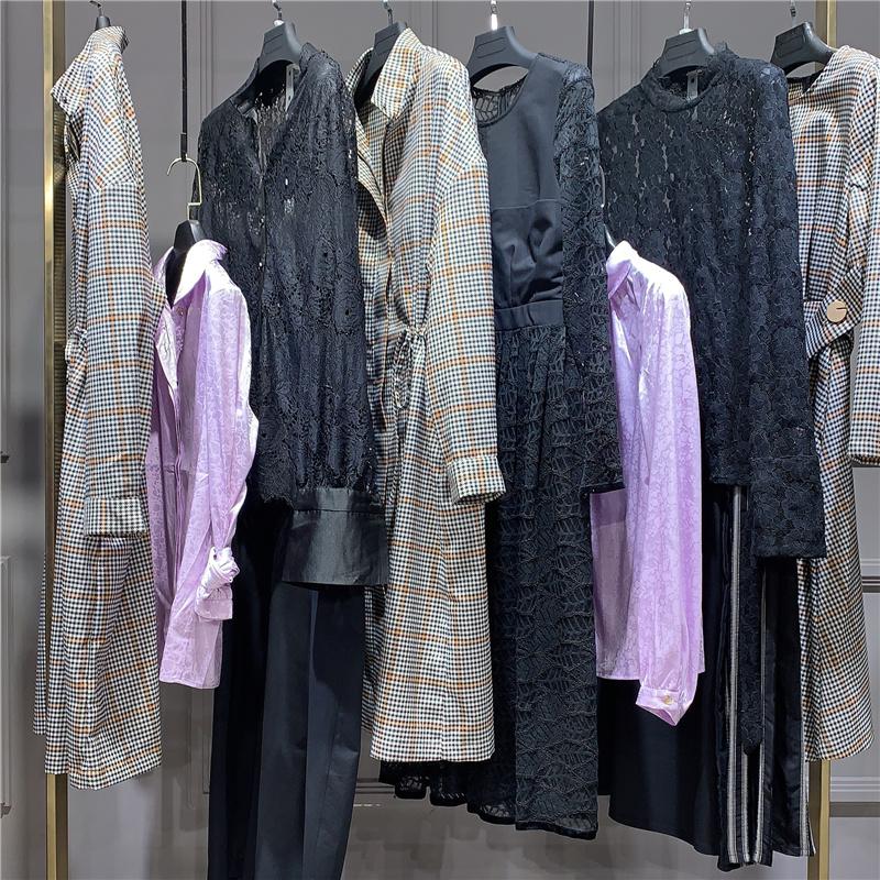 深圳一线品牌一琢设计师女装折扣欧美货源