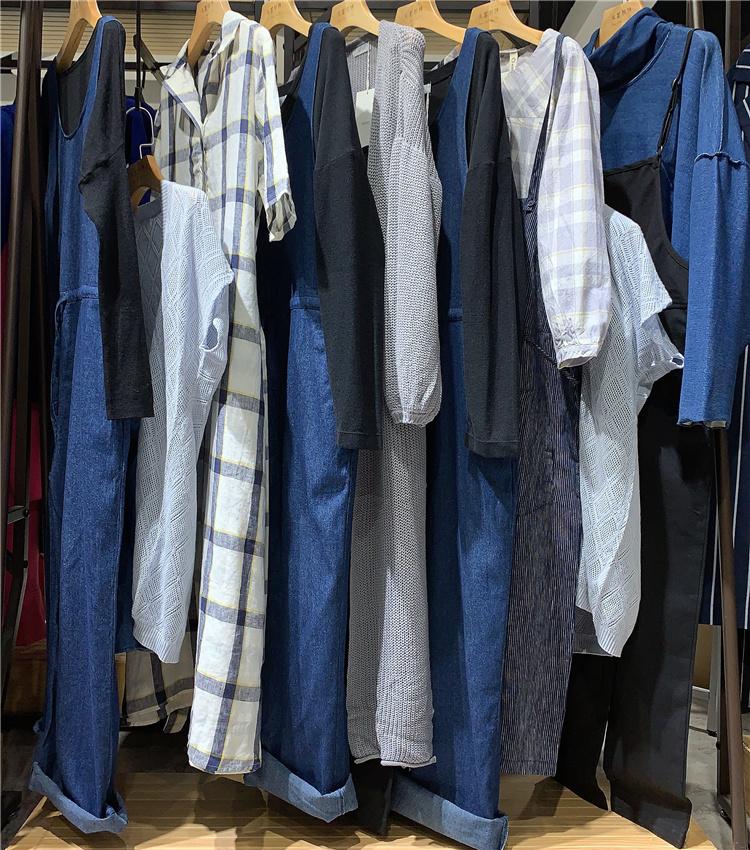 上海休闲女装品牌莫斯特19秋冬 设计师原创高端女装 走份批发