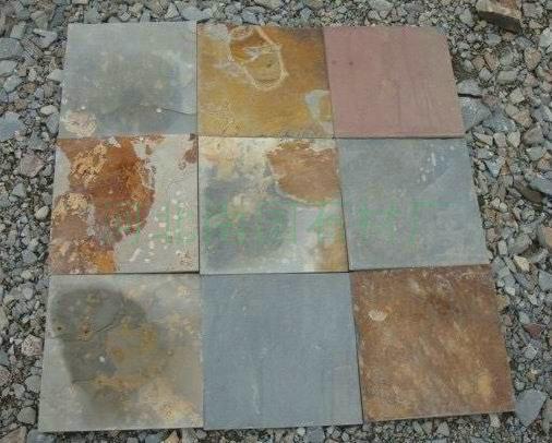 锈板岩厂家  南国石材厂