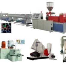 PVC管材生产线 PVC塑料管材生产线 PVC管材线 PVC型材生产线批发