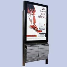 LJX-8广告垃圾箱批发_供应商