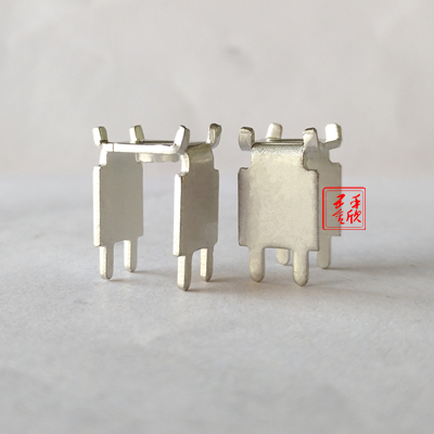 厂家直销 PCB-37翻脚焊接端子接线柱熔断器铜支架